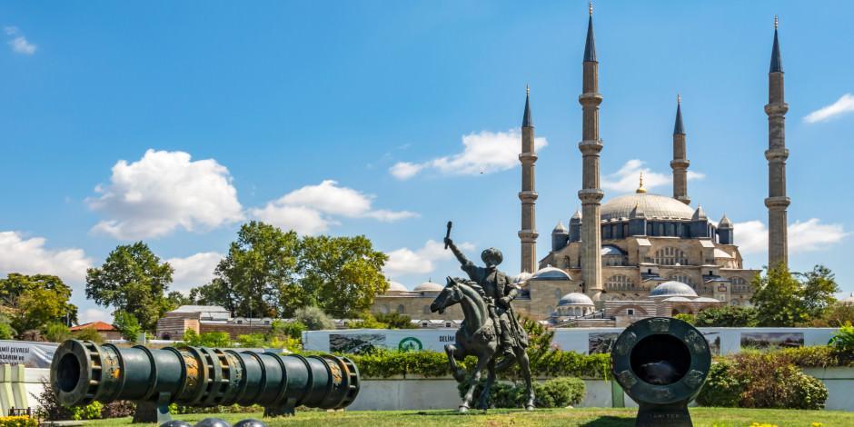 Tam kapanmada Edirne'nin tarihi mekanlarında sanal gezi
