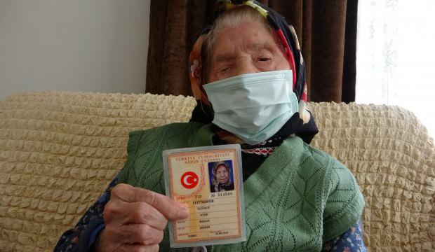 Trabzon'un en yaşlı annesi, Ayşe teyze 106 yaşında