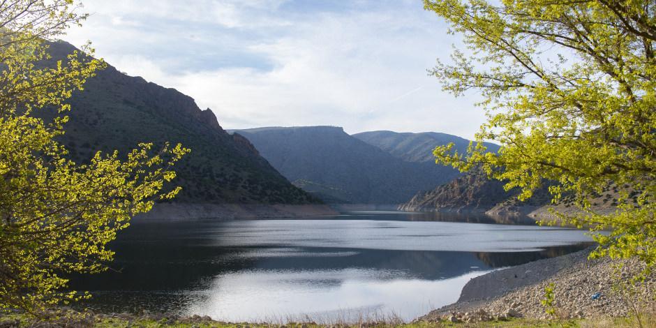 Tunceli'nin saklı cenneti göz kamaştırıyor