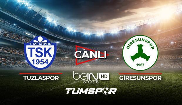 Tuzlaspor Giresunspor maçı canlı izle! BeIN Sports Tuzla Giresun maçı canlı skor takip!