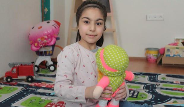 6 yaşındaki İrem Nur, herkes gibi duymak istiyor