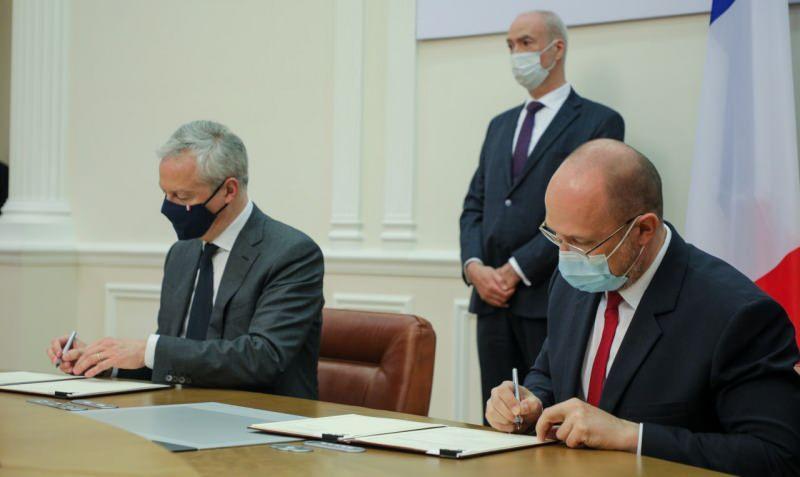 Ukrayna ve Fransa arasında toplam değeri 1,3 milyar avroyu geçen anlaşmalar imzaladı