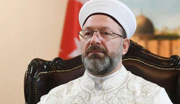 Diyanet İşleri Başkanı Prof. Dr. Ali Erbaş'tan İsrail'e çok sert tepki!