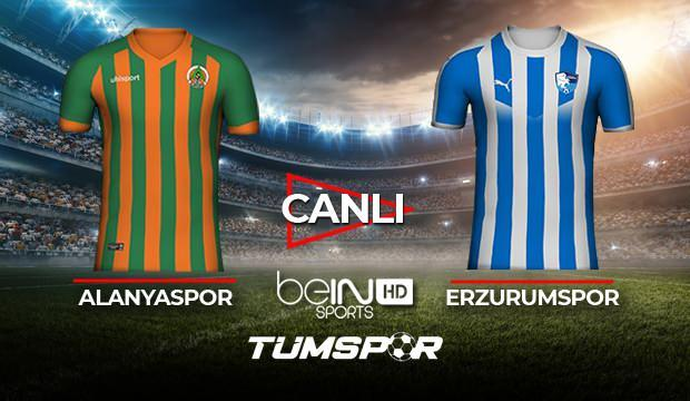 Alanyaspor Erzurumspor maçı canlı izle! BeIN Sports Alanya Erzurum maçı canlı skor takip!
