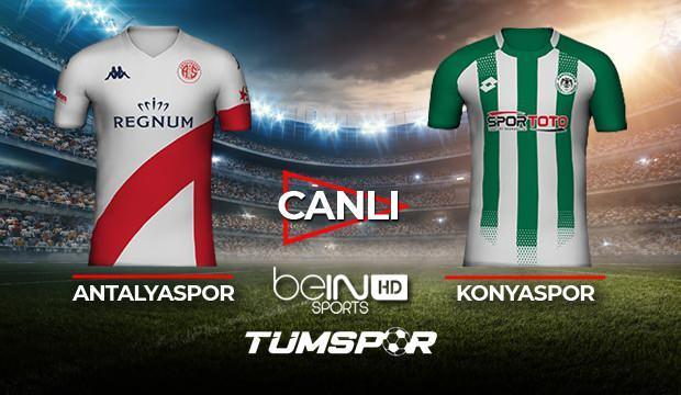Antalyaspor Konyaspor maçı canlı izle! BeIN Sports Antalya Konya maçı canlı skor takip!