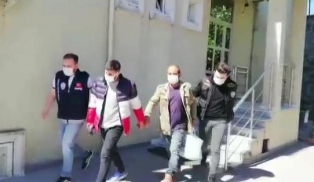 Arnavutköy'de uyuşturucu operasyonu! 2 gözaltı