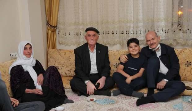 Bakan Soylu, iftarını Kamalı ailesinin evinde açtı