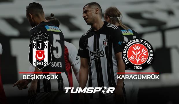 Beşiktaş Karagümrük maçı geniş özeti ve golleri (BeIN Sports) Kara Kartal işini son maça bıraktı!