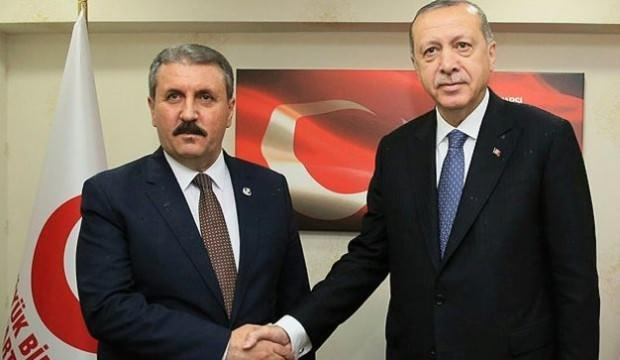 Erdoğan ve Destici arasında önemli görüşme
