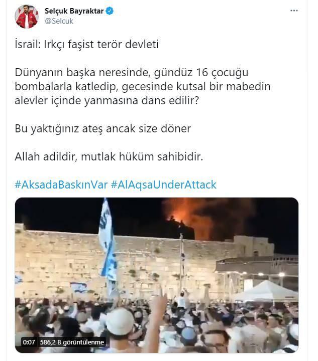 Selçuk Bayraktar, Twitter