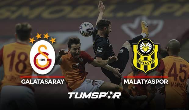 Galatasaray Yeni Malatyaspor maçı geniş özeti ve golleri (BeIN Sports) Aslan şampiyonluğu kaçırdı!