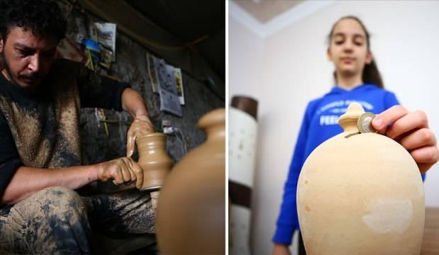 Nevşehir'de kebap testileri salgın döneminde kumbaraya dönüştü