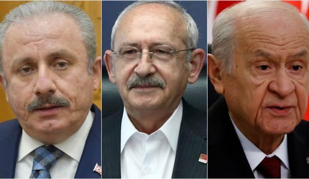 TBMM Başkanı ve siyasi parti liderlerinin bayram programı belli oldu