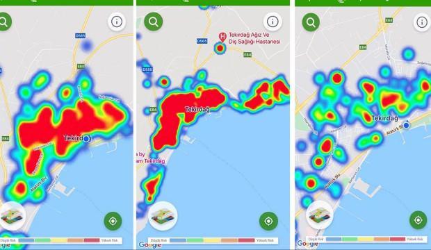 Tekirdağ'da sevindiren gelişme: Vaka haritası kırmızıdan yeşile döndü