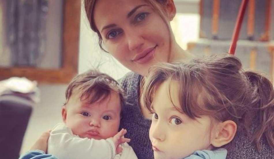 Ünlü oyuncu Meryem Uzerli'den 4 aylık bebeğiyle yeni paylaşım