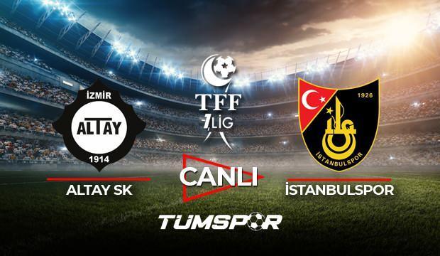 Altay İstanbulspor maçı canlı izle! BeIN Sports TFF 1. Lig Play Off maçı canlı skor takip!