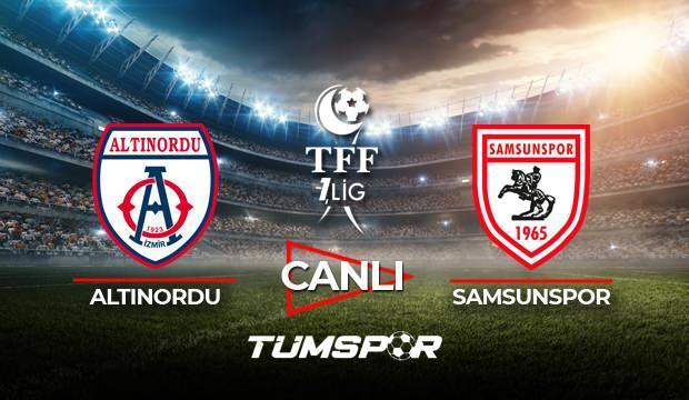 Altınordu Samsunspor maçı canlı izle! BeIN Sports TFF 1. Lig Play Off maçı canlı skor takip!