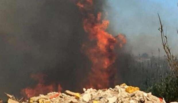 Antalya'da korkutan yangın! Yerleşim yerlerine çok yakın...