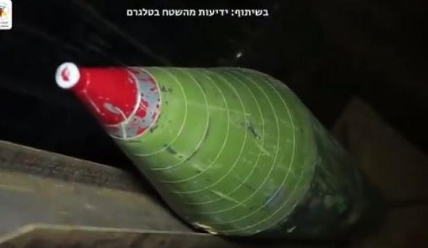 Kudüs Tugayları'ndan İsrail'i korkutan video: Bedir 3 füzesi böyle ateşlendi!
