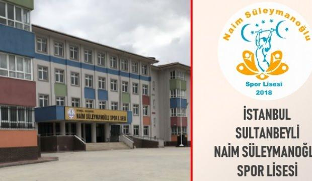 Naim Süleymanoğlu Spor Lisesi'nden Filistin'e destek