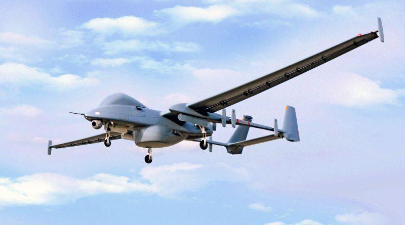 İsrail Hava Kuvvetlerine ait bir Heron İHA