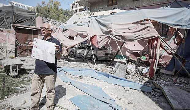Şehit edilen Filistinli kız çocuğu, çizdiği son resimde Türk bayrağına da yer vermiş