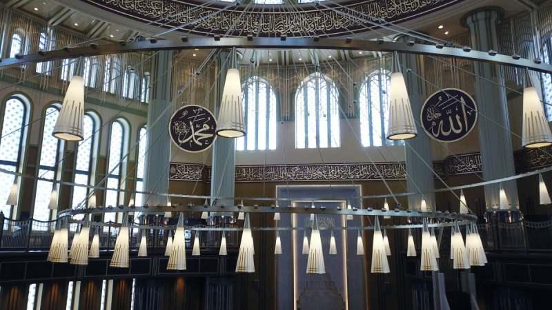 Taksim Camii ibadete açılıyor