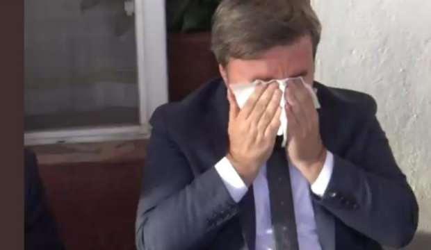 Aksaray Vali'sinin gözyaşları! Küsleri barıştırdı, ağladı