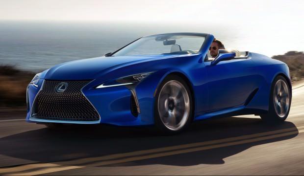 Lexus LC Convertible modelini test etti