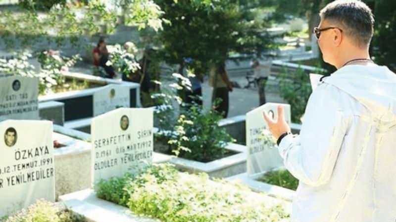 Peker, koruma kararı bulunurken 5 Haziran 2019'da DHKP-C'li teröristlerin mezarlarını ziyaret etmişti.