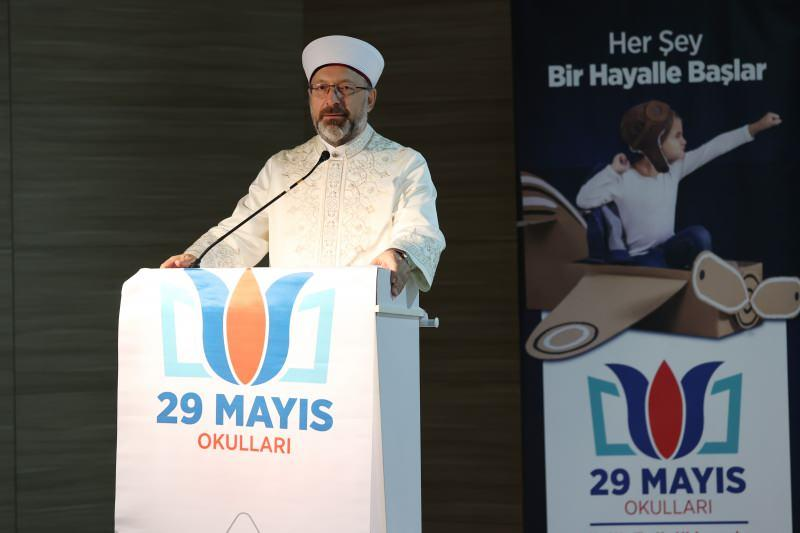 Diyanet İşleri Başkanı Erbaş: Medeniyetimizin temeli ilme dayanıyor