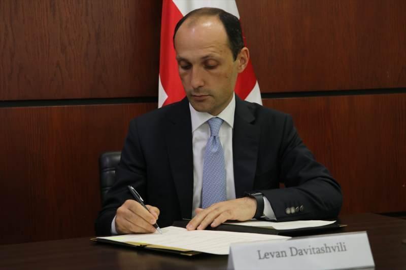 Gürcistan Çevre Koruma ve Tarım Bakanı Levan Davitaşvili