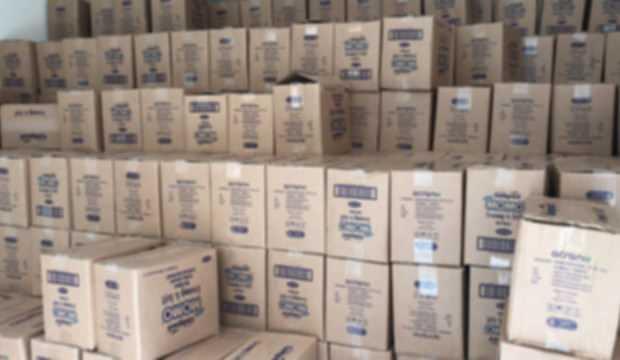 Gaziantep'te 25 bin dolarlık ıslak mendil vurgunu