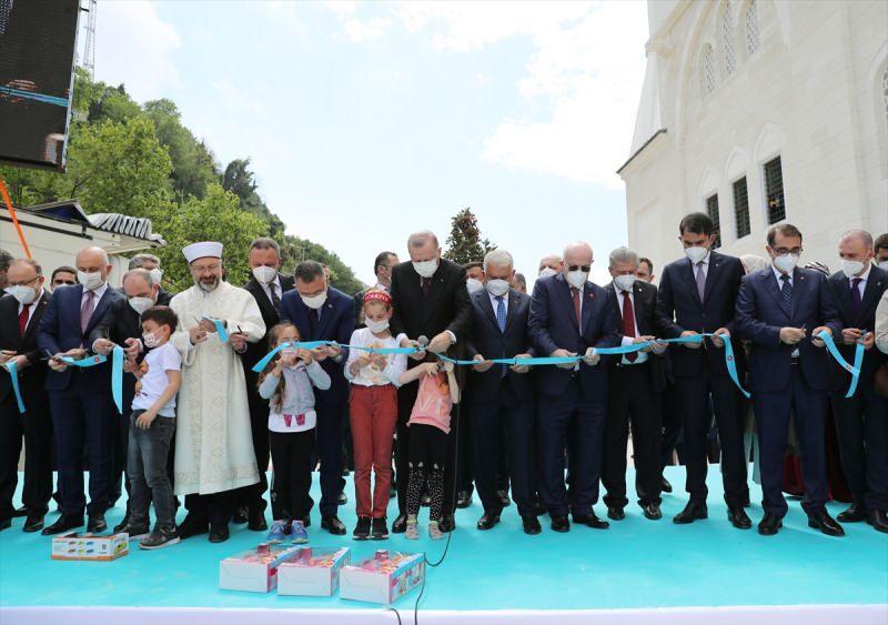 Uzun Mehmet Camisi'nin açılışı.