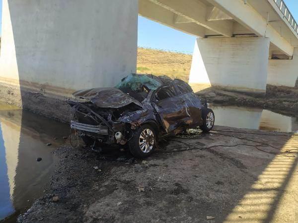 Şanlıurfa'da otomobil üst geçitten dereye düştü: 4 kişi öldü!