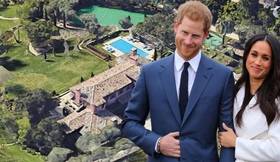 Prens Harry ve Meghan Markle insan kalıntılarına komşu olmuşlar