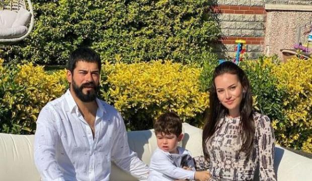 Burak Özçivit'ten eşi Fahriye Evcen'e doğum günü kutlaması