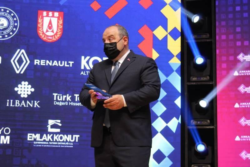 Sanayi Ve Teknoloji Bakanı Varank, Ato Congresium'da Düzenlenen Verimlilik Teknoloji Fuarı'na Katıldı