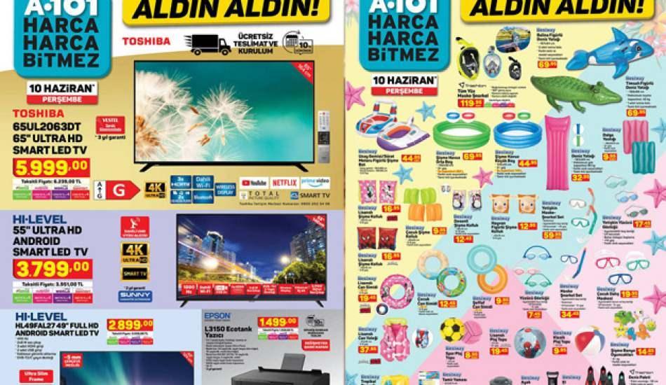 A101 10 Haziran aktüel ürünler belli oldu! 10 Haziran A101 plaj ürünlerinde dev indirim!