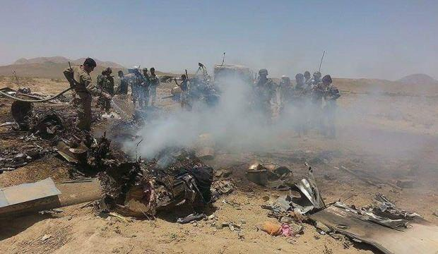 Afganistan'da askeri helikopter düştü: 3 ölü