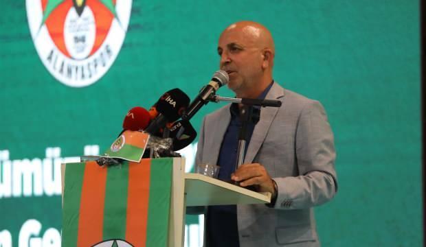 Alanyaspor'da Hasan Çavuşoğlu yeniden başkanlığa seçildi