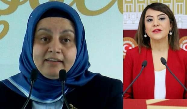 CHP ve HDP'liler 'kadın hakları' görüşmelerinde kadın baro başkanının üstüne yürüdü