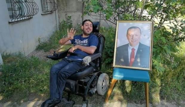 Emir'in Erdoğan'la görüşme hayali gerçek oldu