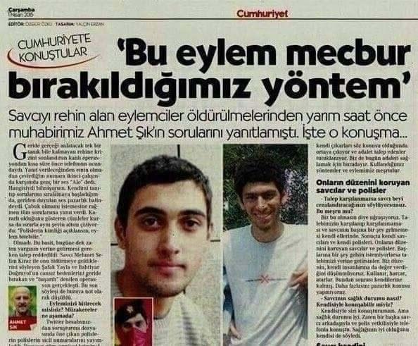 Ahmet Şık, Fahrettin Altun'un paylaşımdan şikayetçi oldu