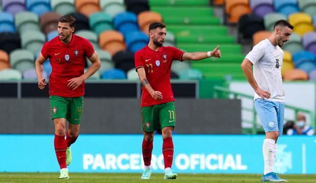 Portekiz, İsrail'i 4 golle geçti