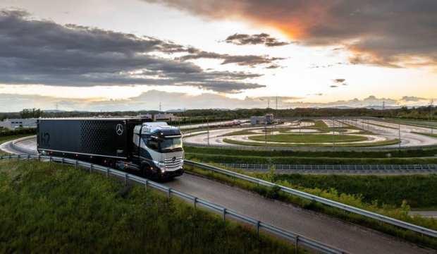 Yeni nesil kamyonu teste çıktı!