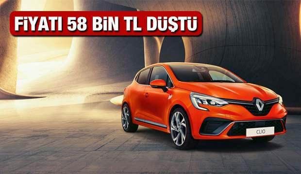 2021 Renault Clio modeline 58 bin TL indim fırsatı! 2021 Model sıfır Clio yeni güncel fiyat listesi...