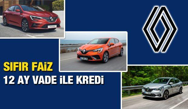 Faizsiz sıfır araç satışı sürüyor! Sıfır faiz ile 2021 Renault Megane, Clio, Taliant kampanyası