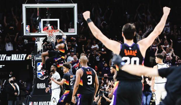 Suns, Nuggets'a karşı farkı 2'ye çıkardı