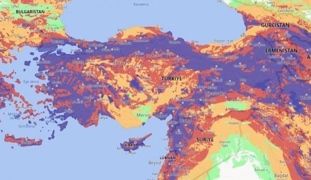 Türkiye'de deprem riski olan bölgeler nerelerdir? Türkiye deprem haritası...